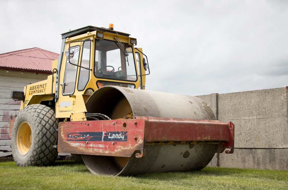 abernathy Contracting Roller